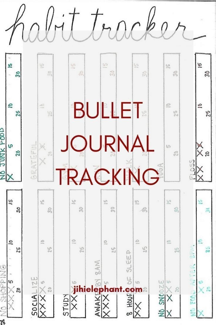 Bullet Journal Tracking Layout Ideas