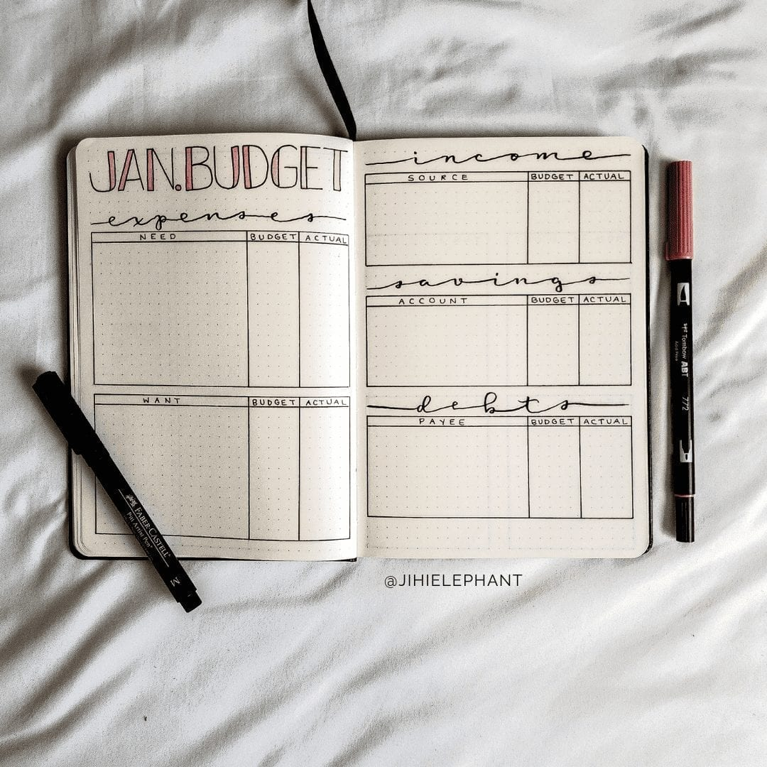 Brianna's Bullet Journal | Client Gallery