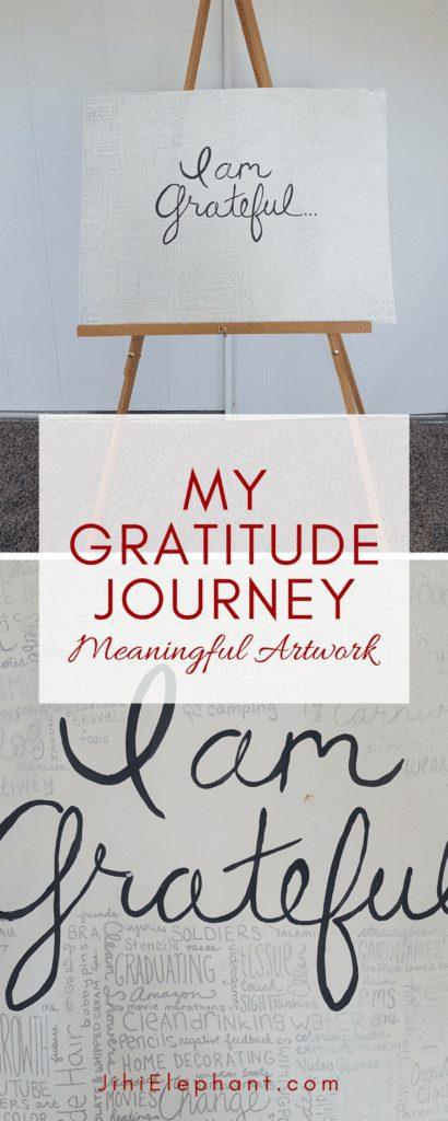 My Gratitude Journey | Meaningful Artwork