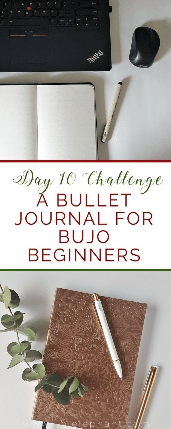 A Bullet Journal for Bujo Beginners | 10-Day Challenge