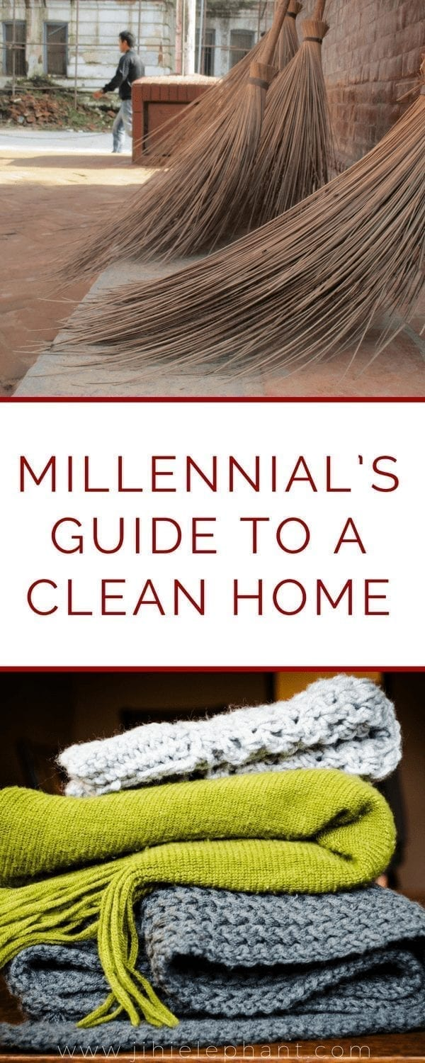 A Millennial's Guide To A Clean Home