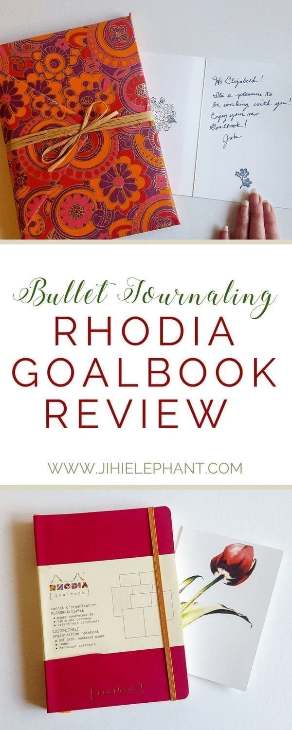 Rhodia Goalbook Review for Bullet Journaling
