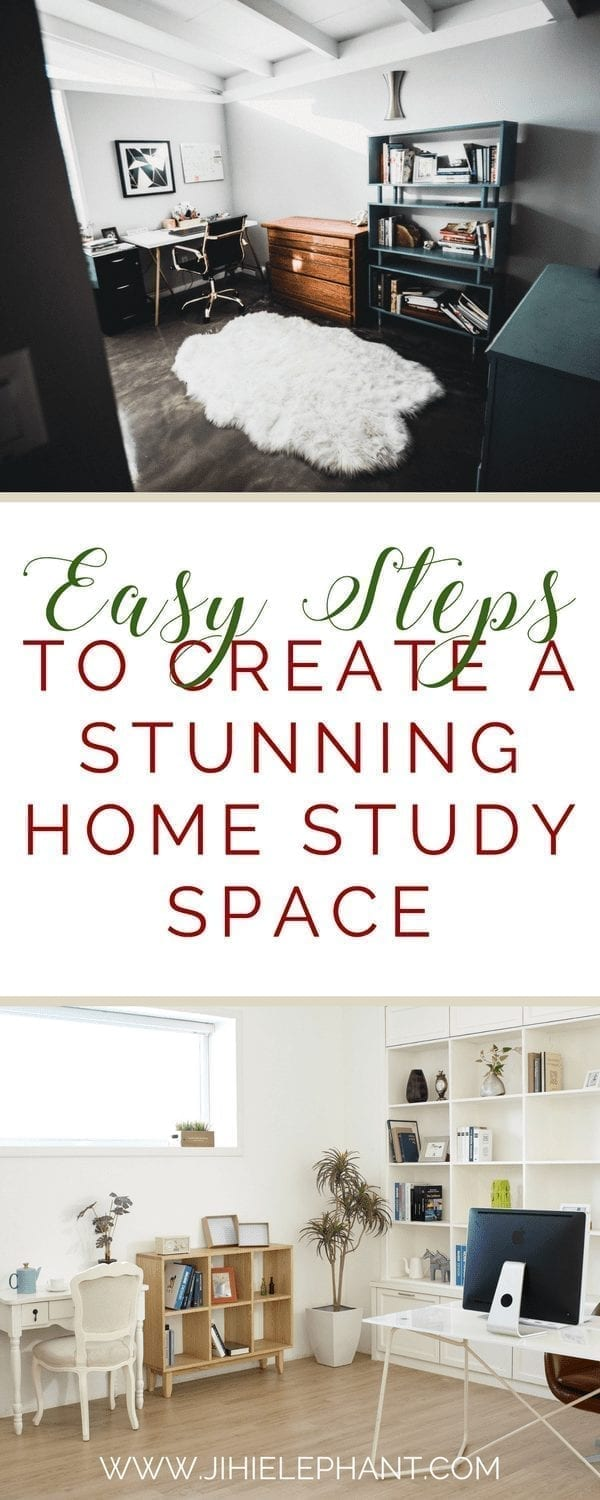 Easy Steps to Create a Stunning Home Study Space