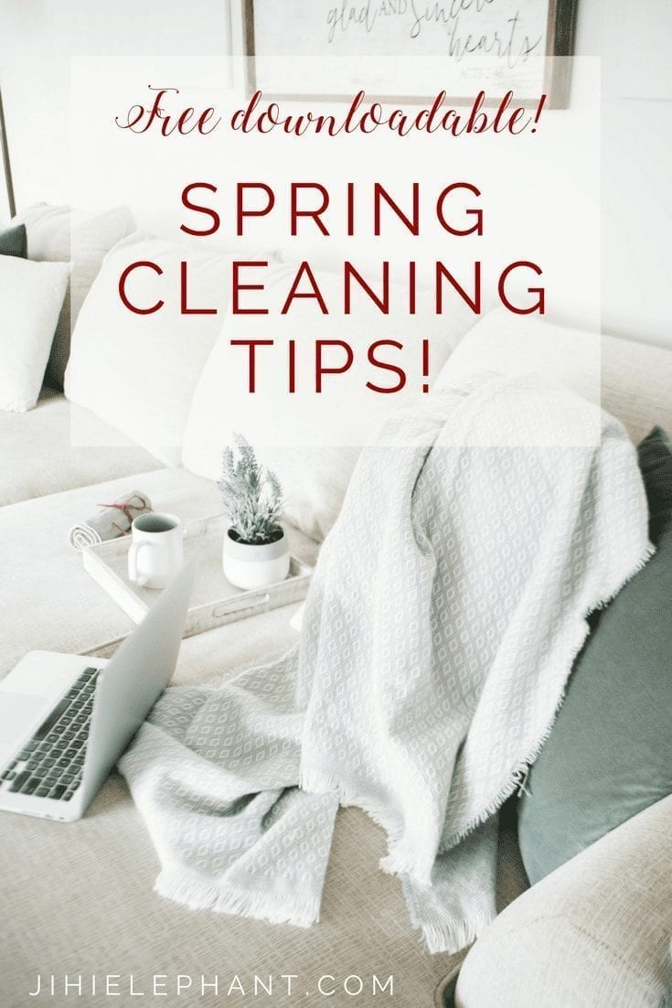 Spring Cleaning | A Guide to All the Little Places to Remember