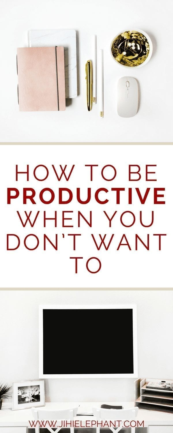 How to be Productive When You Don't Want To | Gaining Motivation