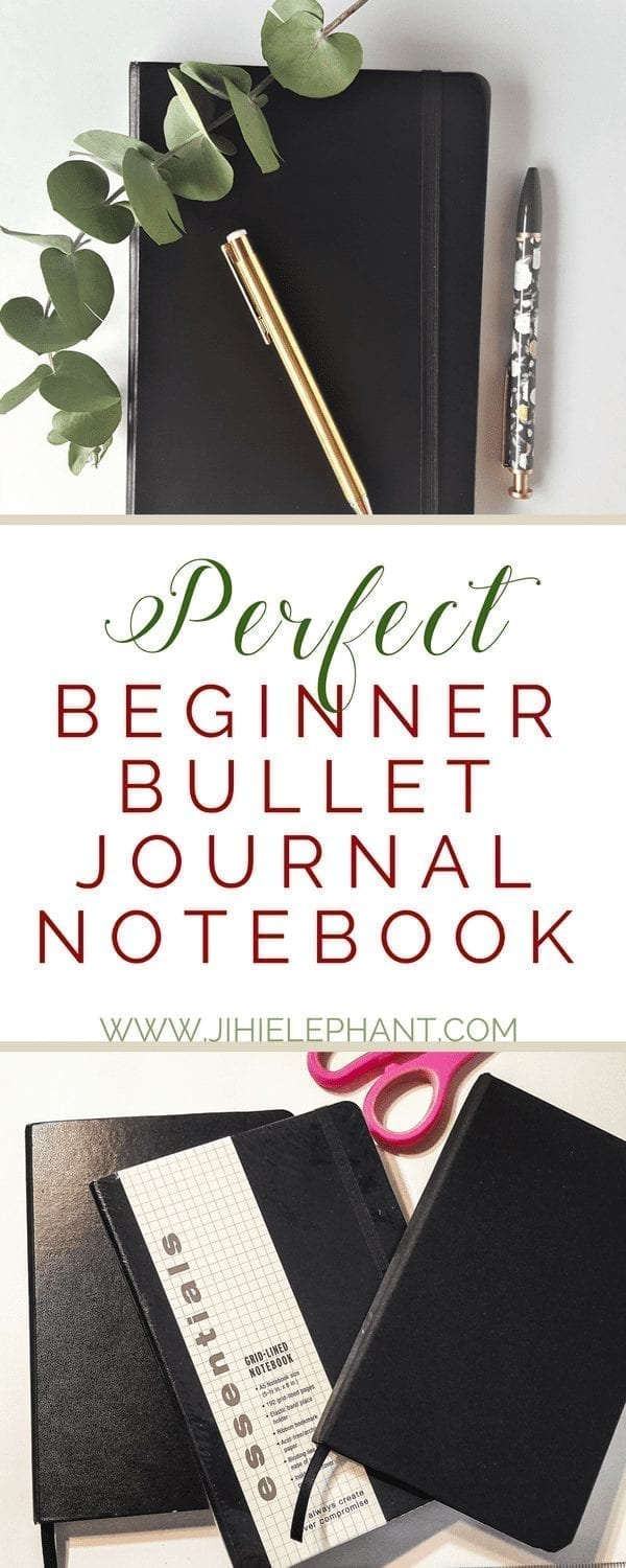 The Perfect Beginner's Bullet Journal Notebook Review