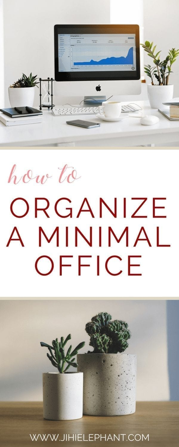 How to Organize and Decorate a Minimal Home Office