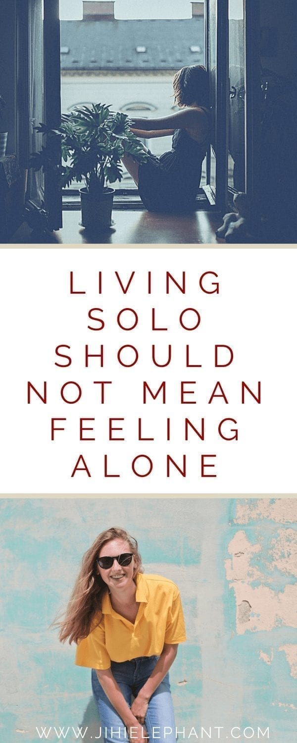 Living Solo Shouldn't Mean Feeling Alone