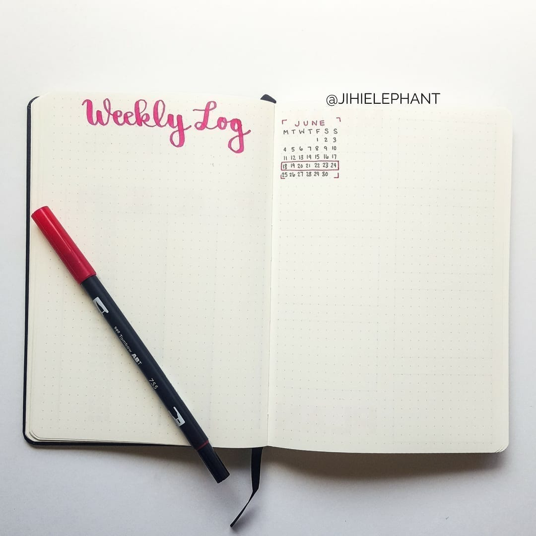 Lacey's Bullet Journal | Client Gallery