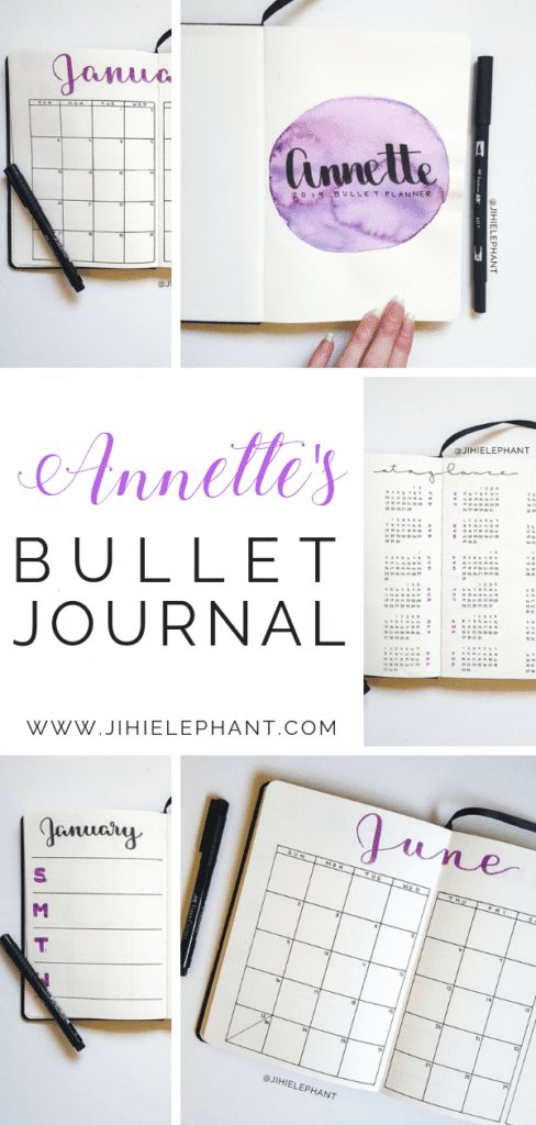 Annette's Bullet Journal | Client Gallery