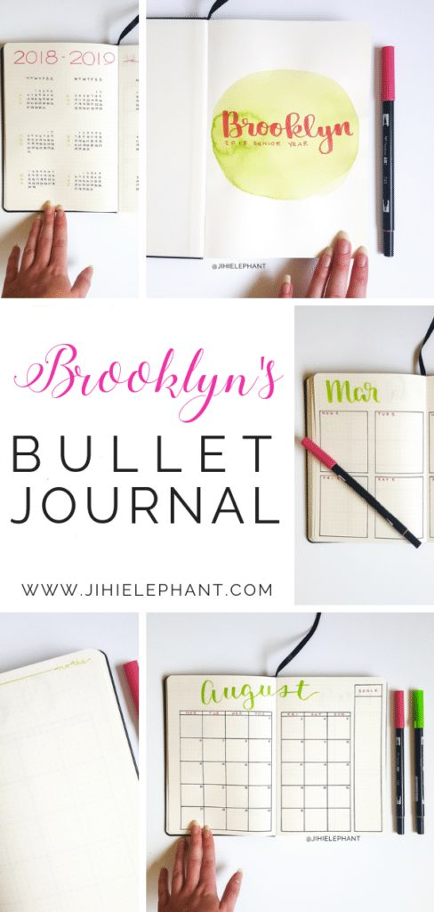 Brooklyn's Bullet Journal | Client Gallery