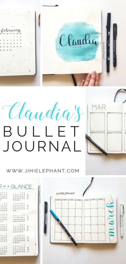 Claudia's Bullet Journal | Client Gallery