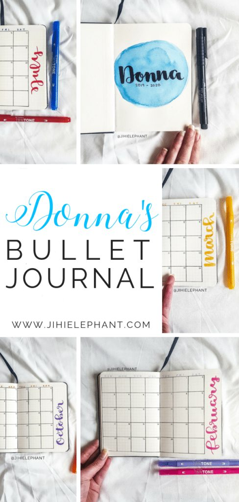 Donna's Bullet Journal | Client Gallery