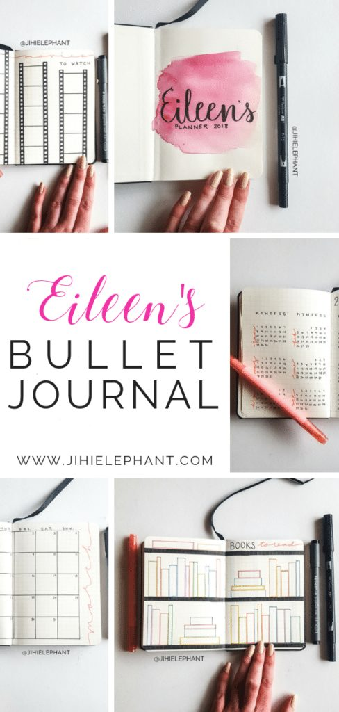 Eileen's Bullet Journal | Client Gallery