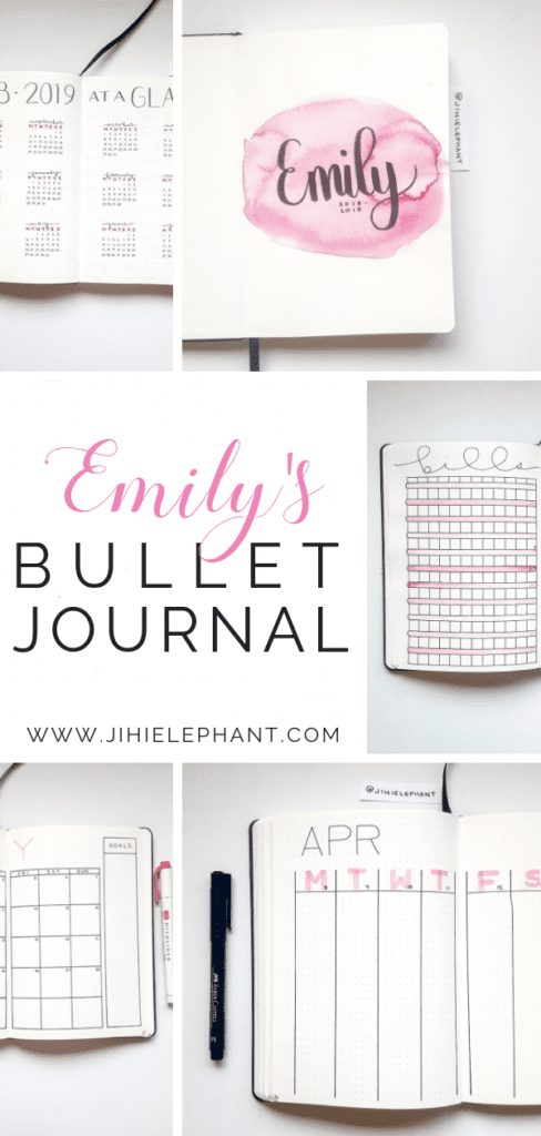 Emily's Bullet Journal | Client Gallery
