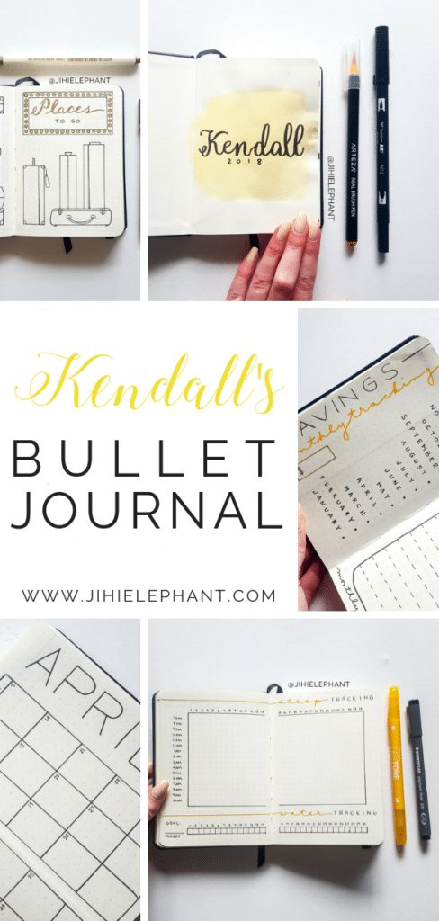 Kendall's Bullet Journal | Client Gallery