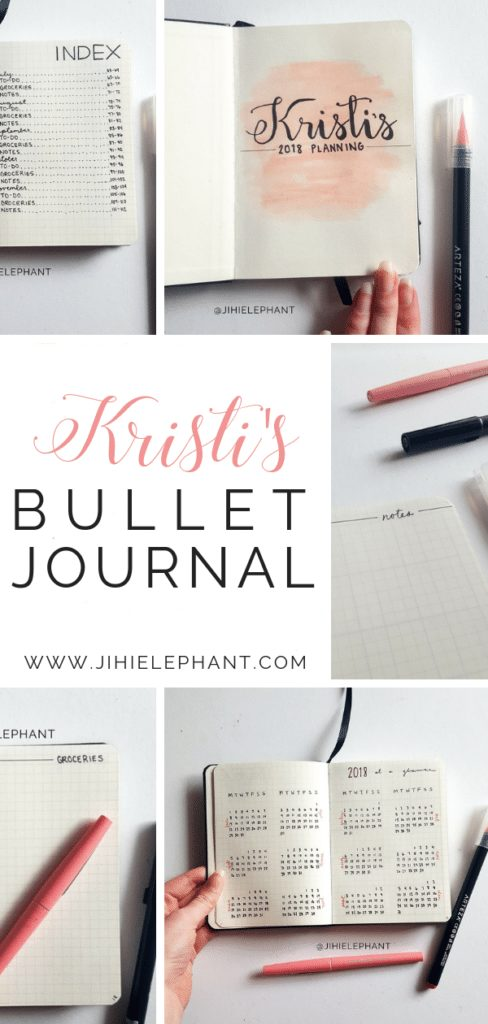 Kristi's Bullet Journal | Client Gallery