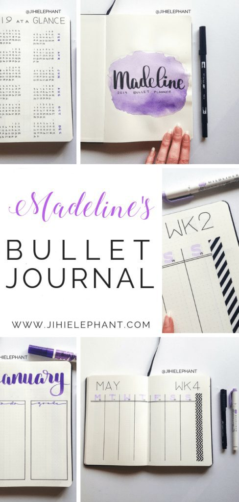 Madeline's Bullet Journal | Client Gallery