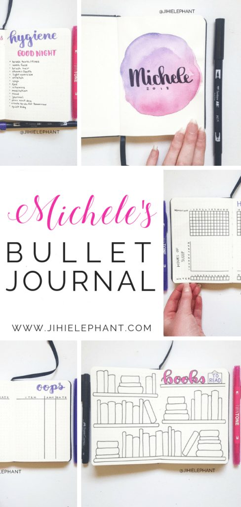 Michele's Bullet Journal | Client Gallery