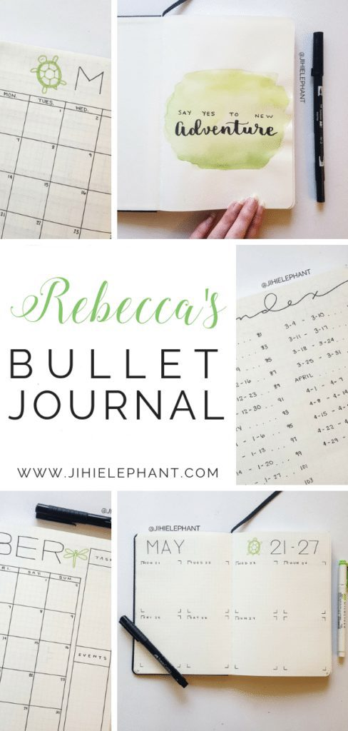 Rebecca's Bullet Journal | Client Gallery