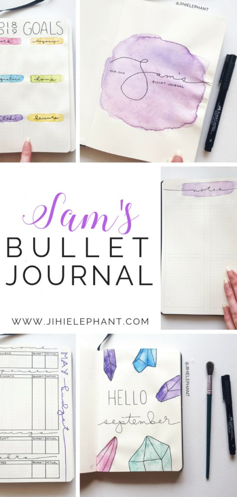 Sam's Bullet Journal | Client Gallery