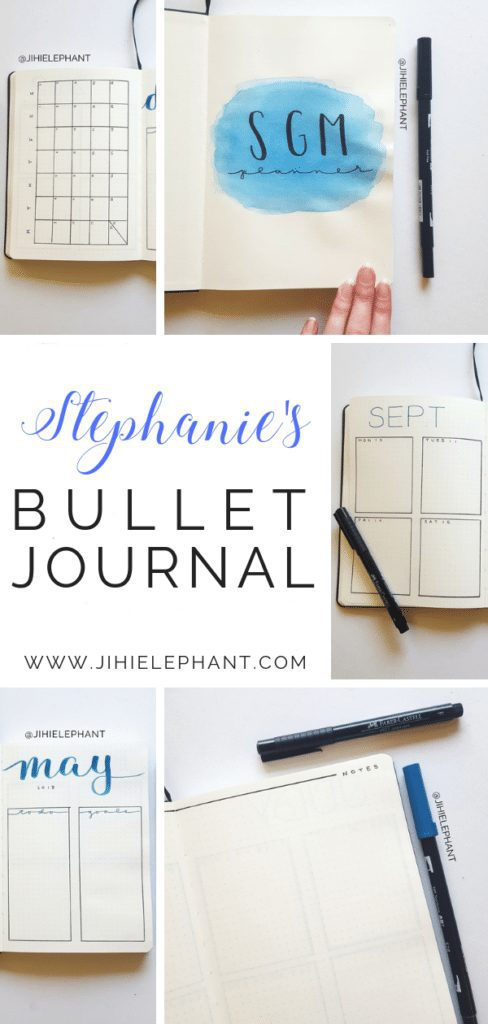 Stephanie's Bullet Journal | Client Gallery