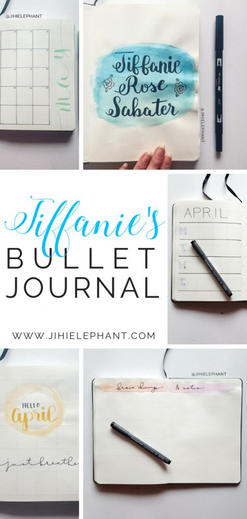 Tiffanie's Bullet Journal | Client Gallery
