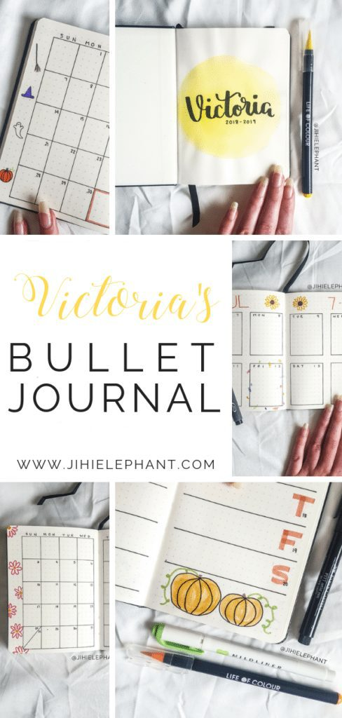 Victoria's Bullet Journal | Client Gallery