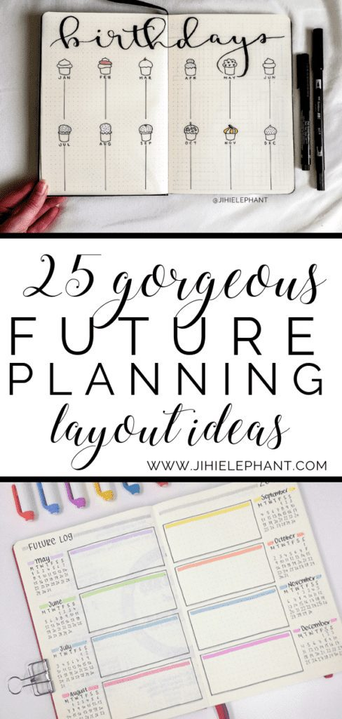 25 Gorgeous Future Planning Layouts You Need