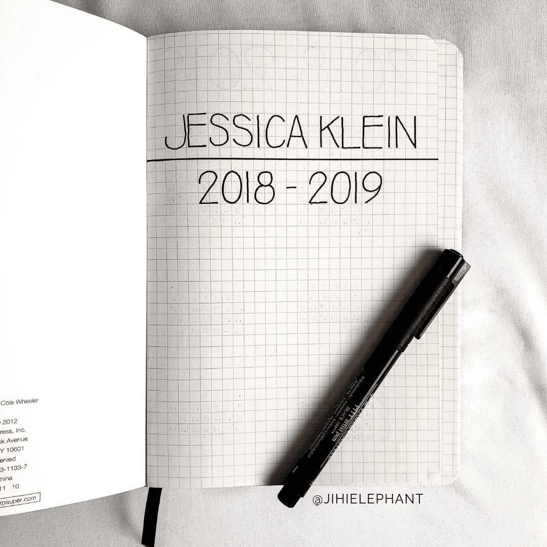 Jessica's Bullet Journal | Client Gallery