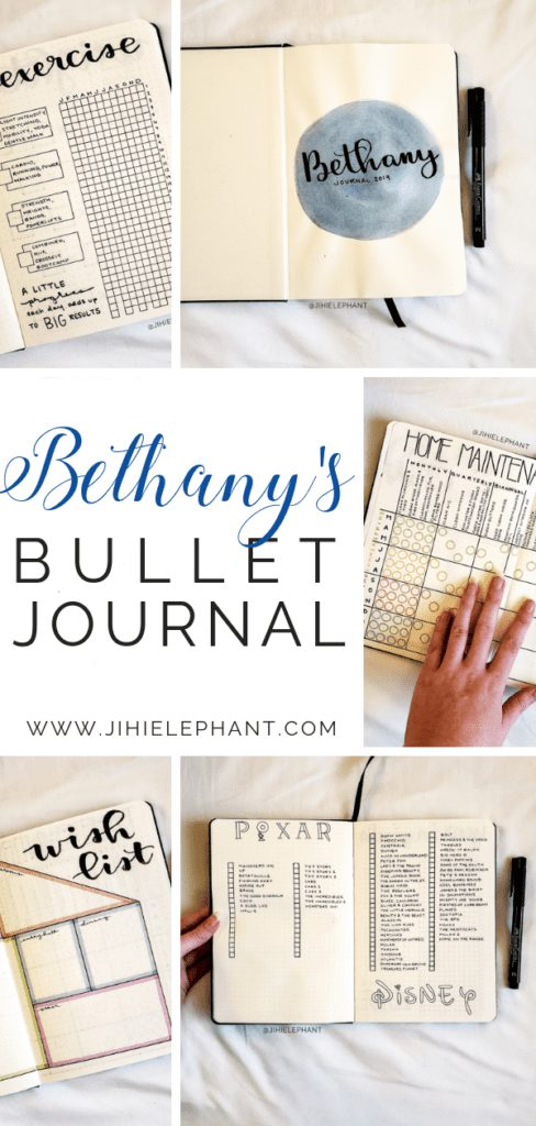 Brittany's Bullet Journal | Client Gallery