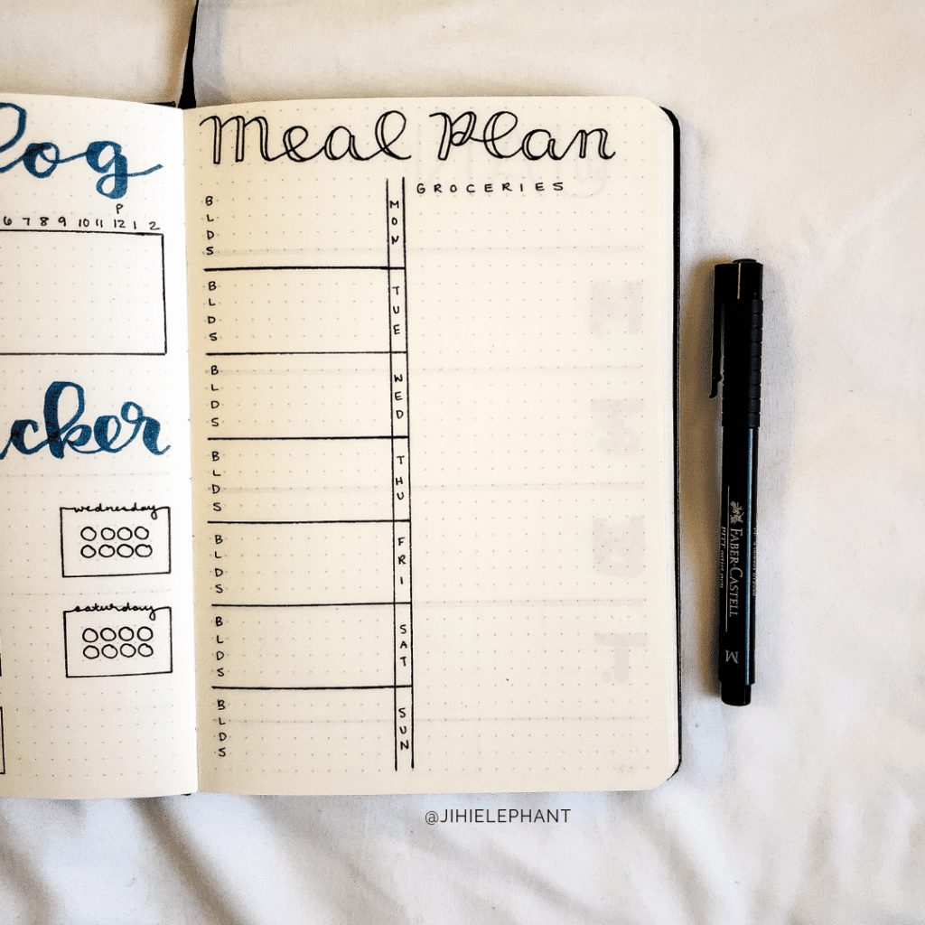 meal plan bethany