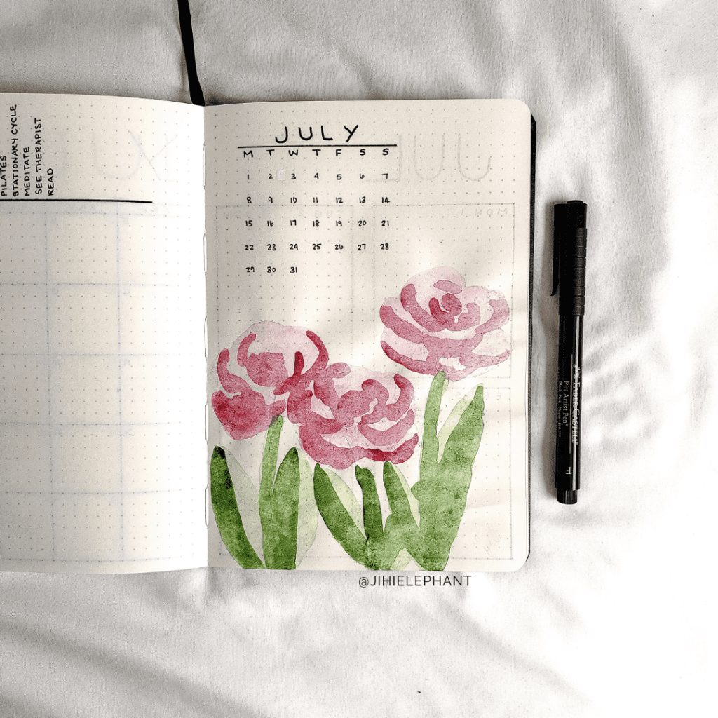 Alana's Bullet Journal | Client Gallery