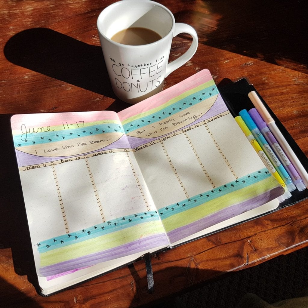 December Bullet Journal Feature | Ashlee of @scribblesofsubstance
