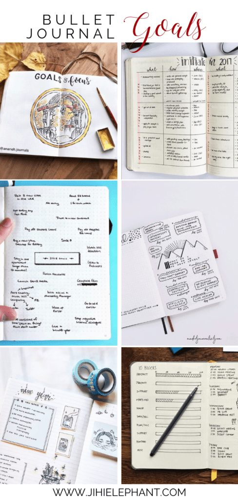 23 Goal Pages to Start Off Your 2019 Bullet Journal Right