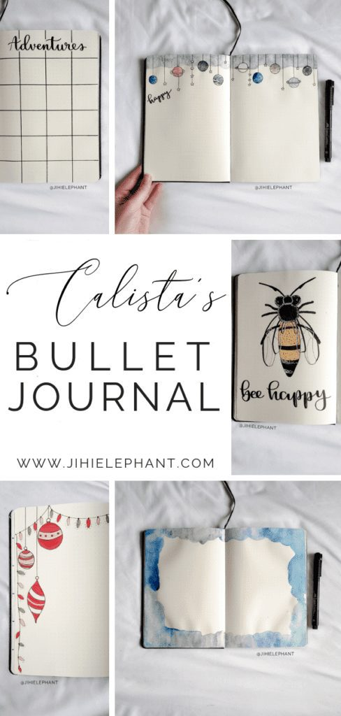 Calista's Bullet Journal | Client Gallery