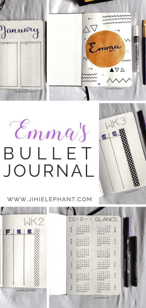 Emma's Bullet Journal | Client Gallery