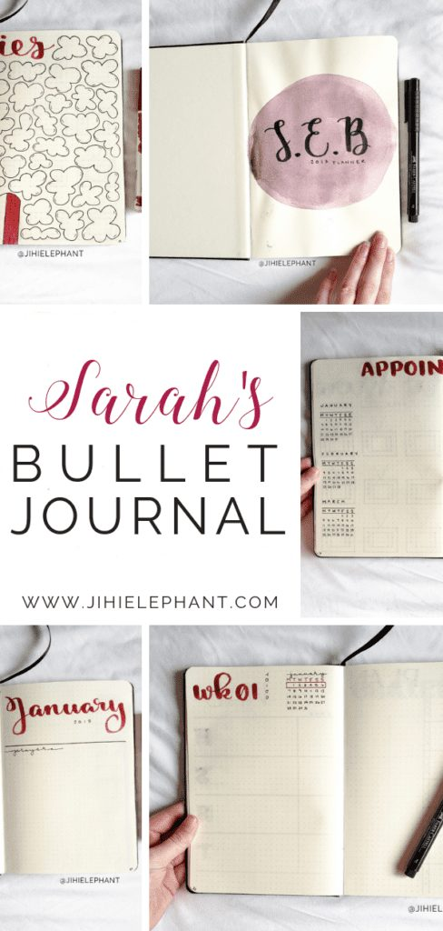 Sarah's Bullet Journal | Client Gallery