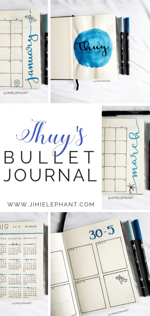 Thuy's Bullet Journal | Client Gallery