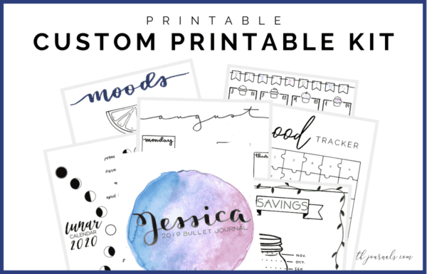 Do you love the idea of printable planning pages, but can't find anything that suits your needs? Get completely customized printable planning layouts tailored to your needs. You can choose from the provided templates or request something completely new and made just for you! Then you can customize the font, color, paper size, and more!