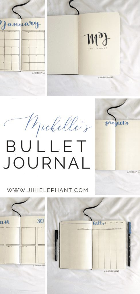 Michelle's Bullet Journal | Client Gallery