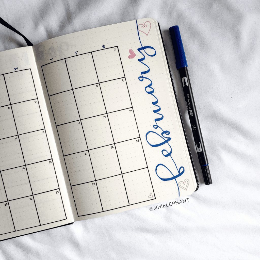 Blythe's Bullet Journal | Client Gallery