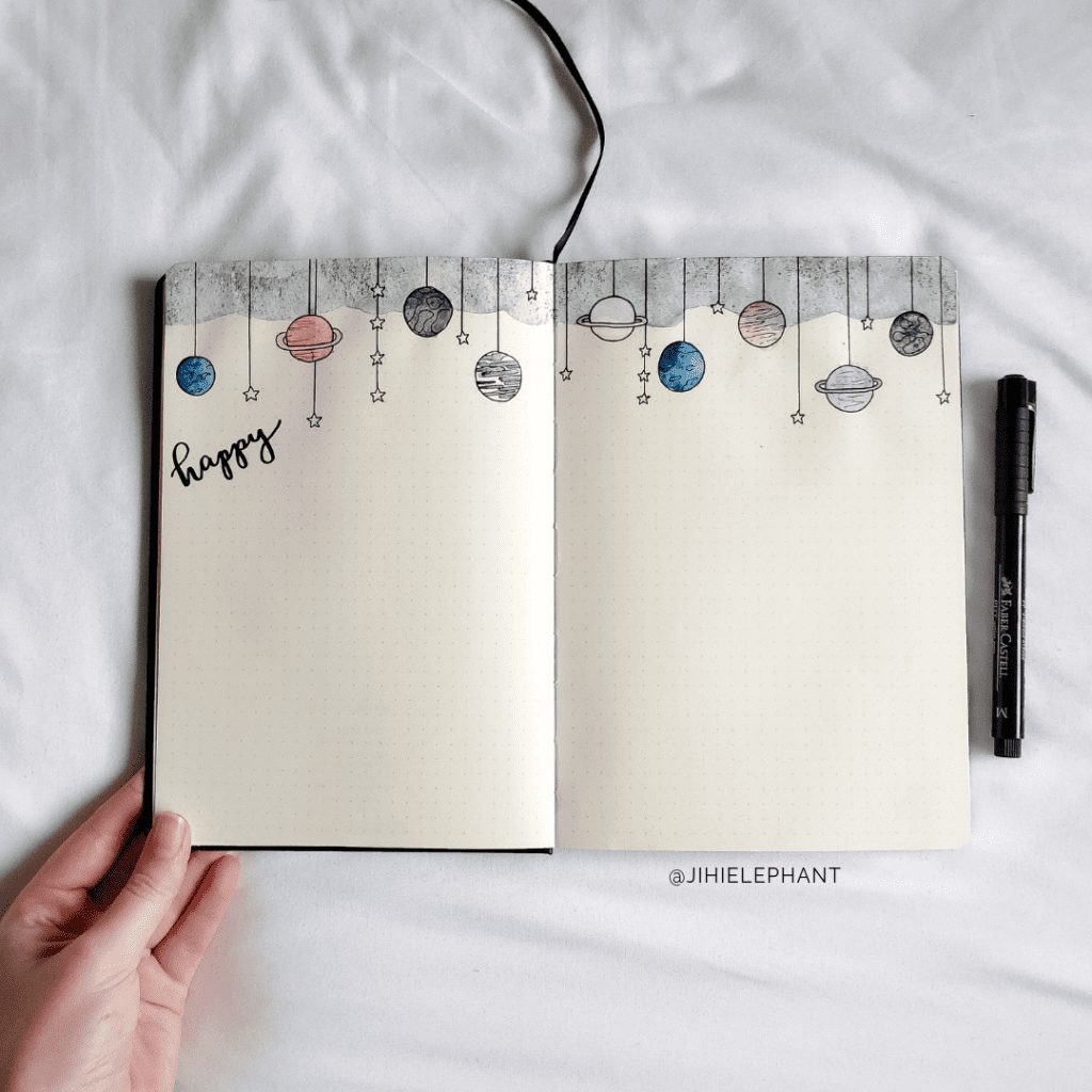 Calista's Scrapbook and Memory Bullet Journal