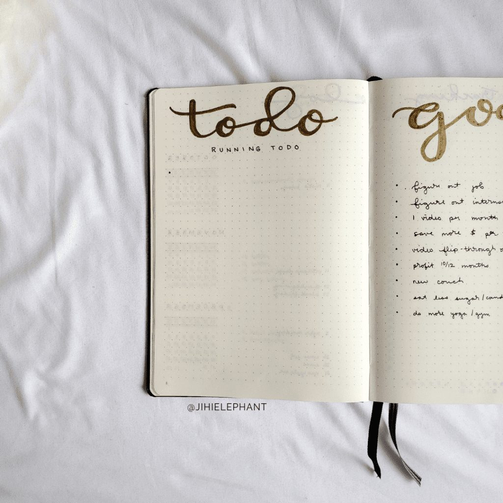 gold to do list