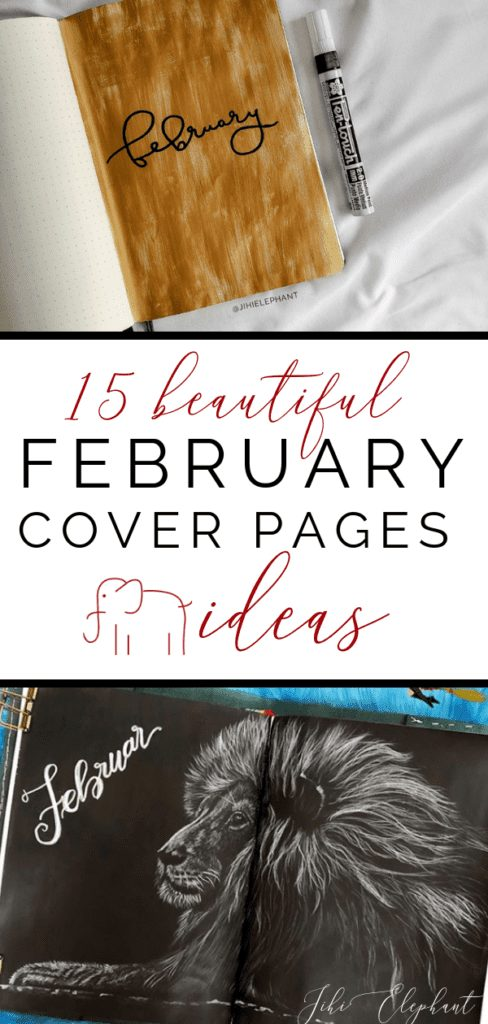 15 Beautiful February Cover Page Ideas