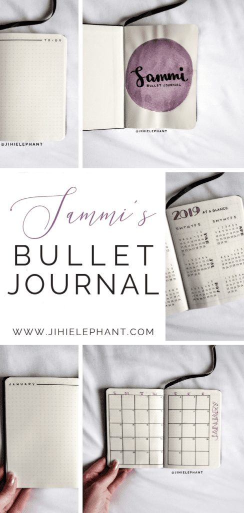 Sammi's Simplistic Bullet Journal | Client Gallery
