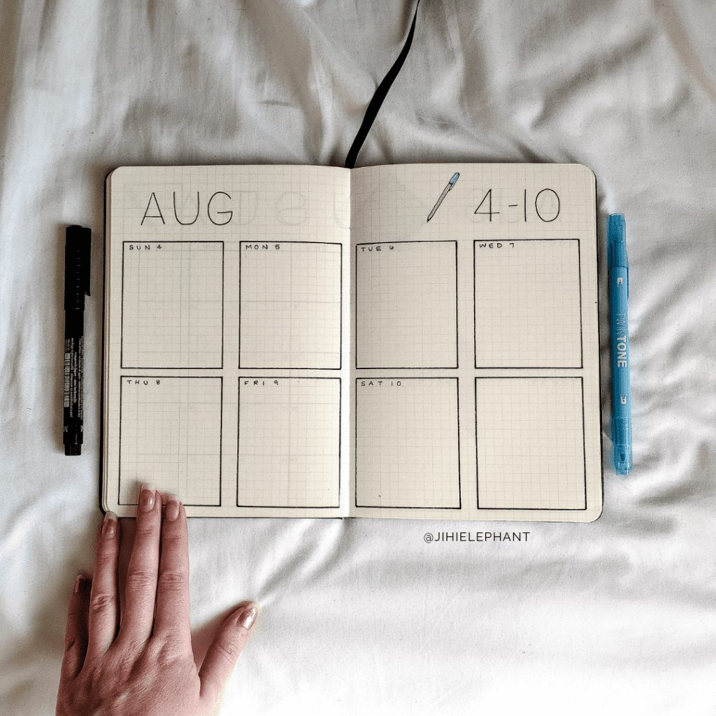 MariaVictoria's Themed Bullet Journal   Client Gallery