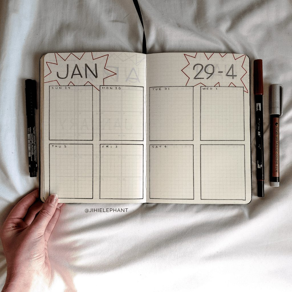 MariaVictoria's Themed Bullet Journal | Client Gallery