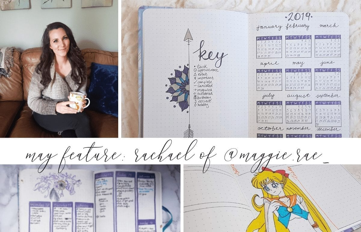 May Bullet Journal Feature | Rachael of Planning with Maggie Rae