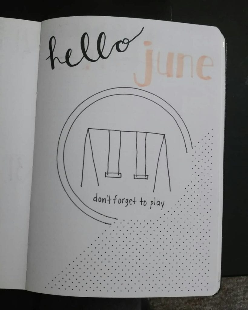 swingset hello june cover page